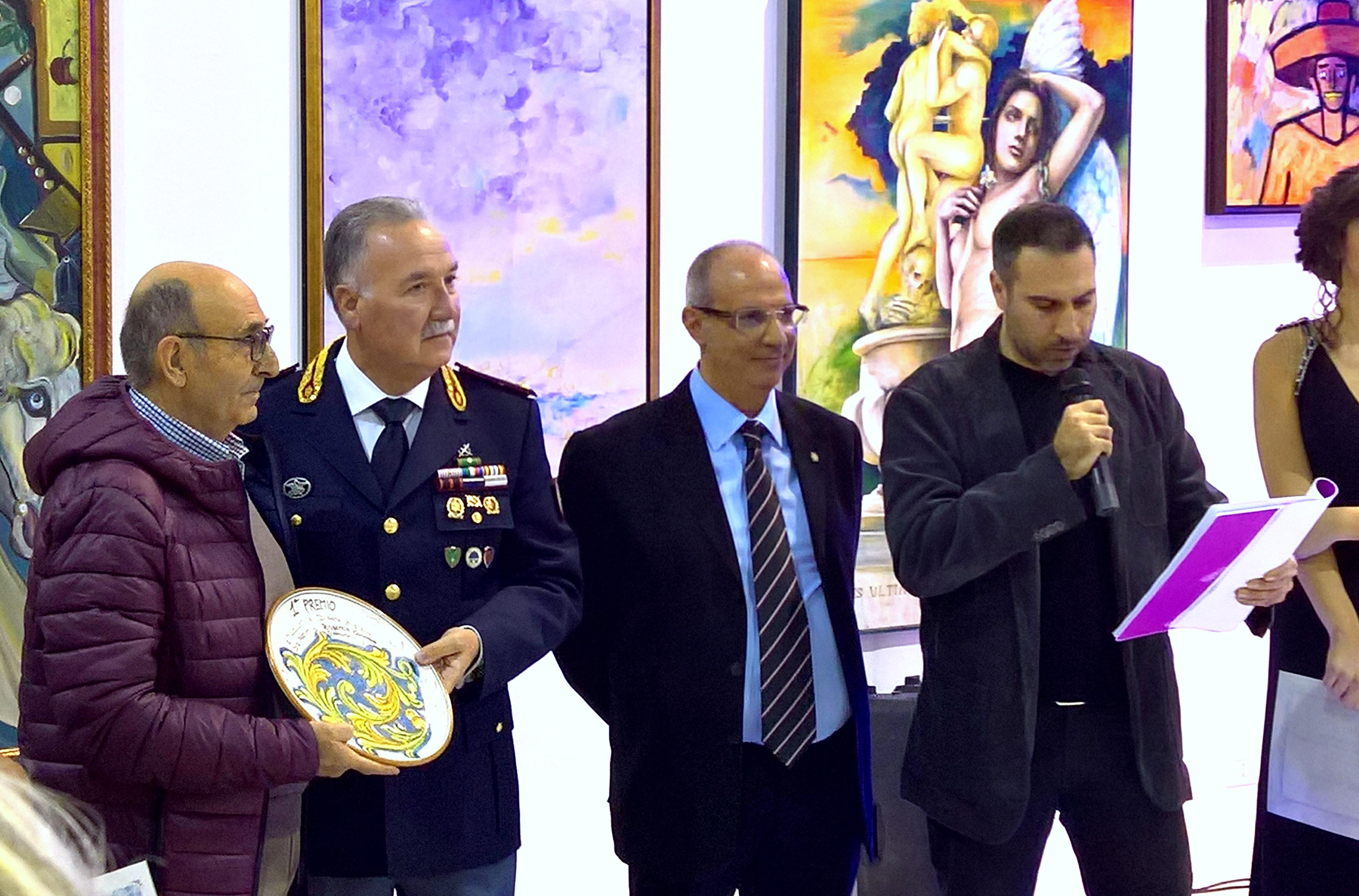 Premiazione Primo Premio Collettiva D'arte